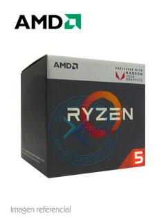 Procesador AMD Ryzen 5 2400G, 3 60GHz, 4MB L3, 4 Core, AM4, 14nm