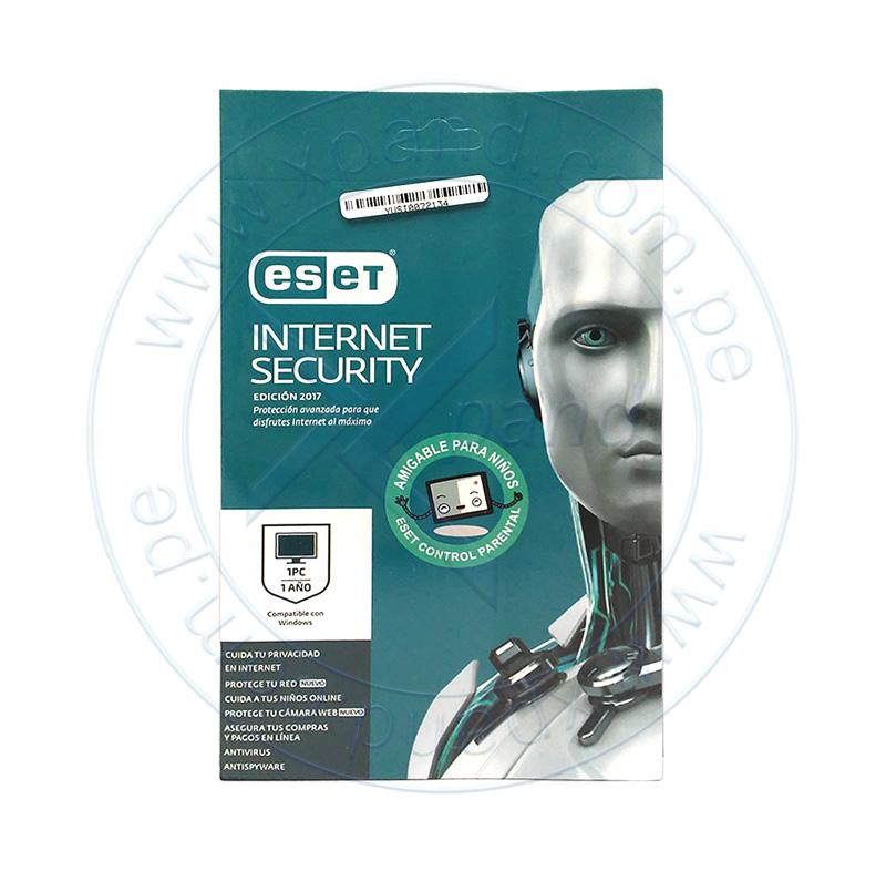 Eset Internet Security Edici 243 N 2017 Para 1 Pc Licencia